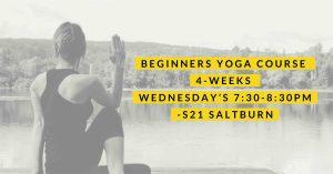 Beginners Yoga Course in Saltburn